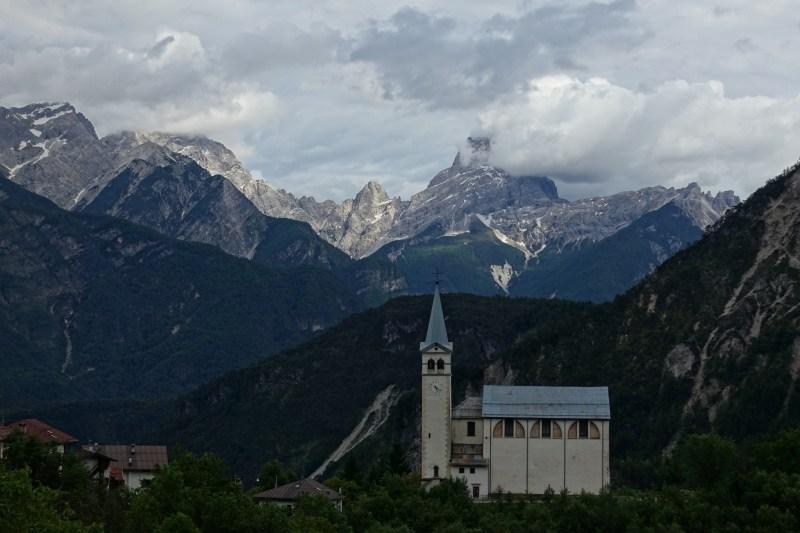 Chiesa di San Martino & Cima dei Preti
