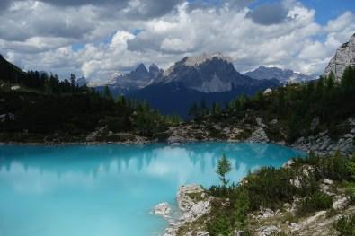 Lago di Sorapiss and the Tre Cime