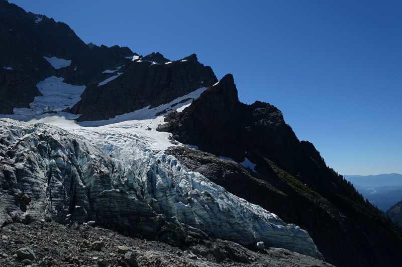 Lower Curtis Glacier, Mount Shuksan