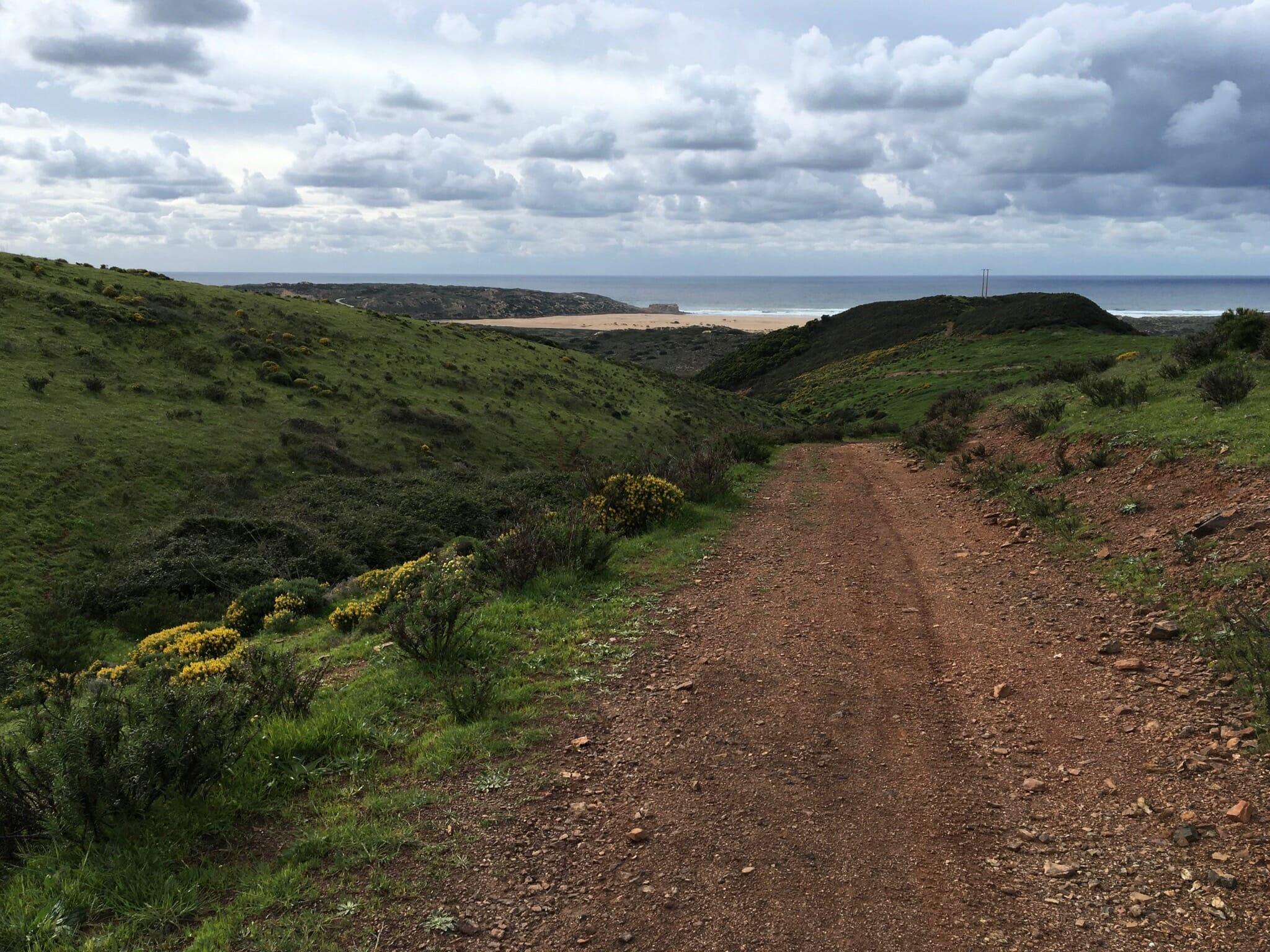 Approaching Praia Da Bordeira