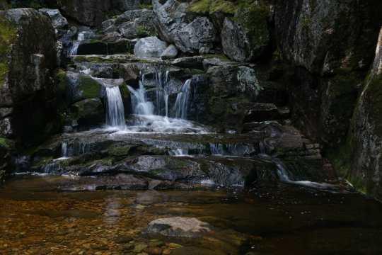 Small cascade on Blue Brook