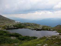 Lake in front of Lakes of the Clouds Hut, Mount Washington