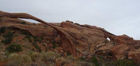 Landscape and Partition Arches, Arches National Park