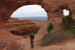 Kyle at Partition Arch