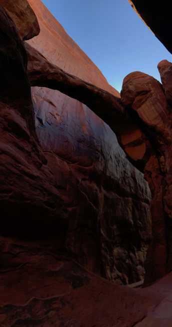Surprise Arch, Fiery Furnace, Arches National Park