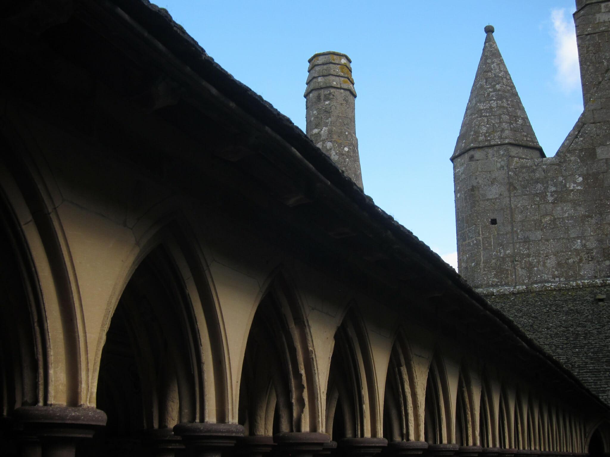 Cloister at Mont Saint-Michel