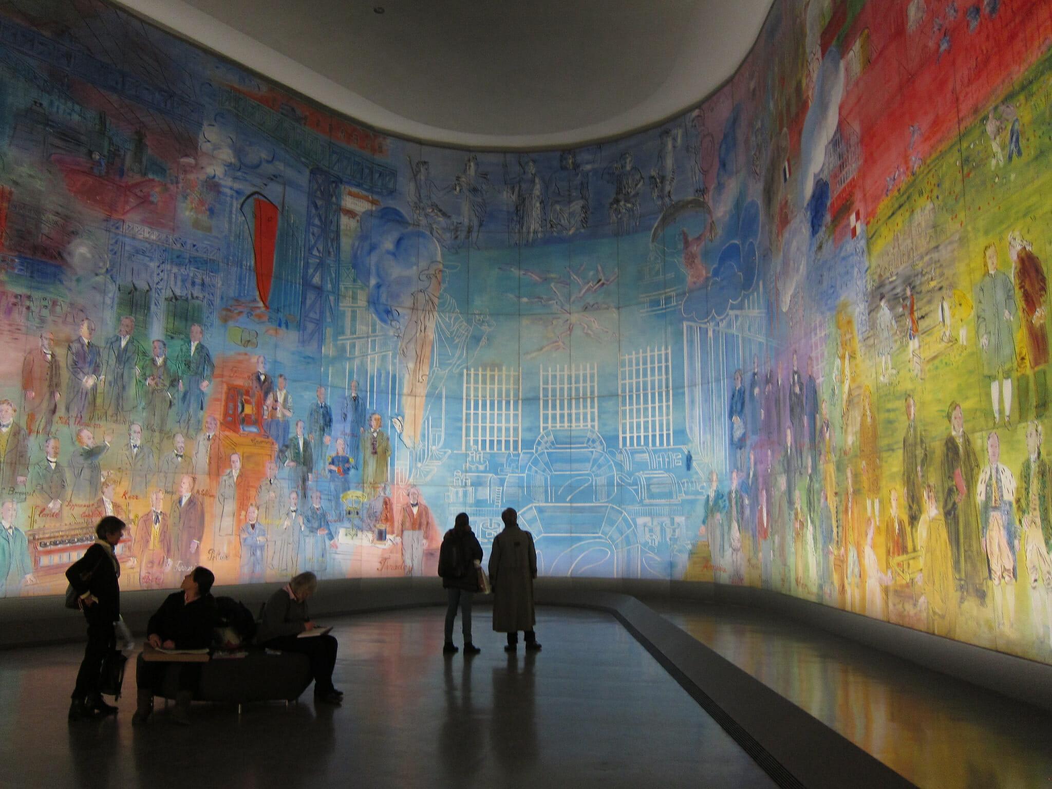 La Fée Electricité mural at the City of Paris Museum of Modern Art