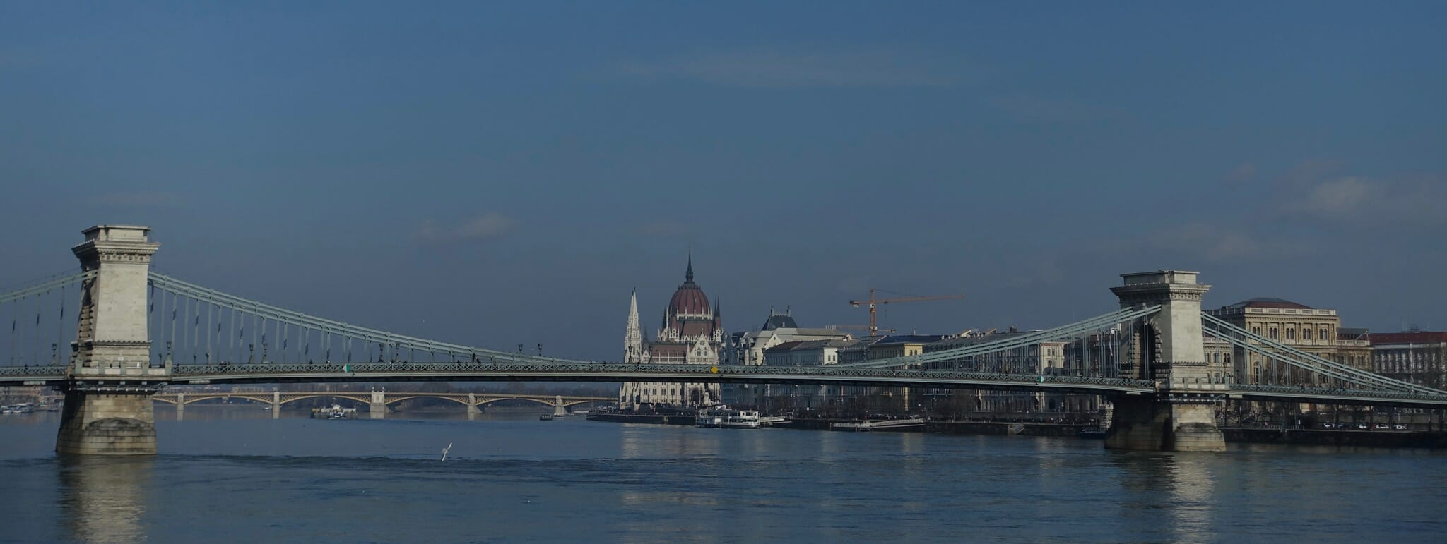 Chain Bridge and Hungarian Parliament Building