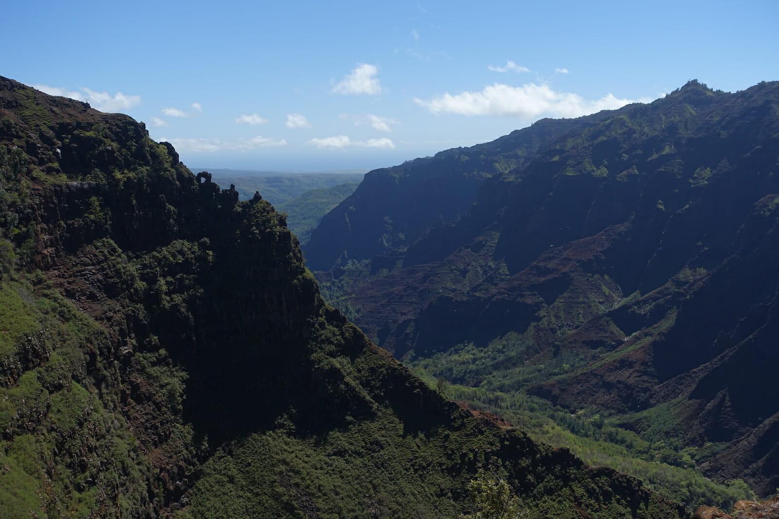 Waimea Canyon from the Canyon Trail