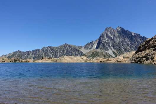 Lake Ingalls and Mount Stuart