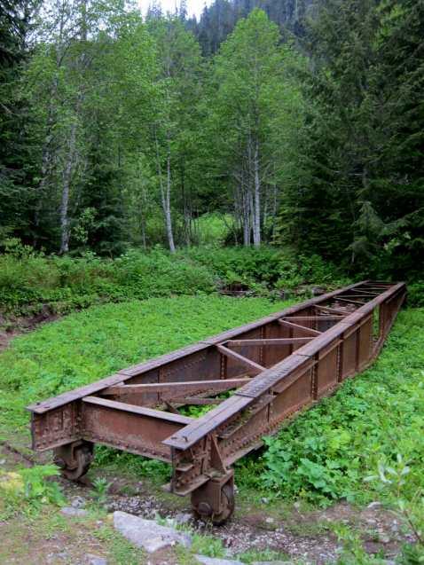 Railroad turntable at Monte Cristo townsite