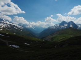 view from Col de Balme