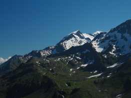 Lacs Jovet and Mont Blanc from Col du Bonhomme