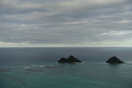 Islands seen from the Pillbox Hike