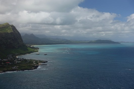 Oahu coast view from Makapu'u Point