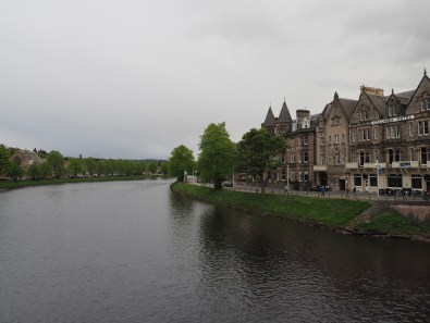 River Ness on an overcast day, Inverness