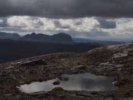 Tarn on Quinag