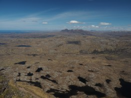 View to the north from Suilven