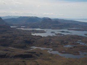 View to the south from Suilven