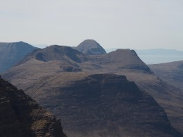 view west from Ruadh-Stac Mor