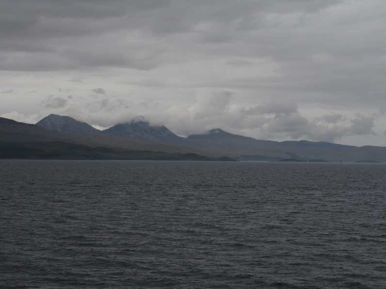 Ferry views of the Paps on Jura