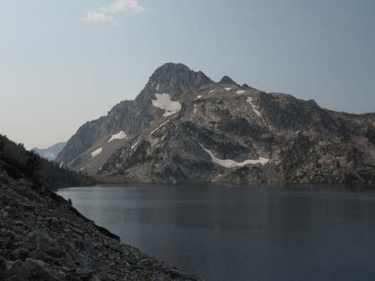 Sawtooth Lake and Mount Regan