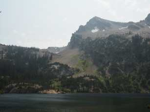 Alpine Lake and Peak