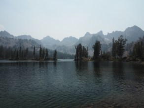 Alice Lake and the Sawtooths