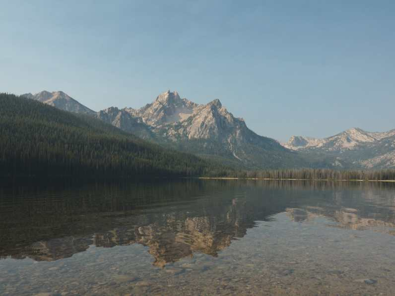 Stanley Lake and the Sawtooths