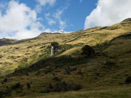 Waterfall near Shotover Saddle Route