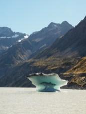 Iceberg in Hooker Lake