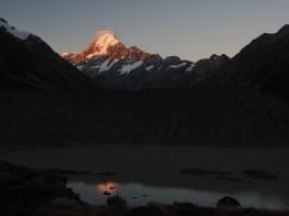 Aoraki / Mount Cook at dusk