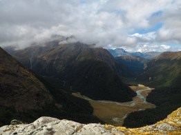 Humboldt Mountains and Routeburn River