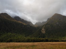 Routeburn Flats and the Humboldt Mountains