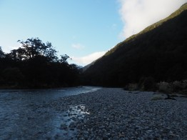 Clinton River along the Milford Track