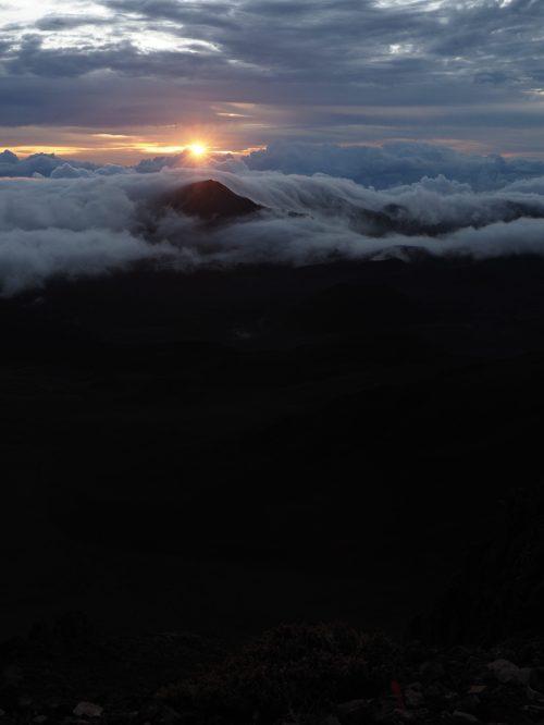 Sunrise at Haleakalā