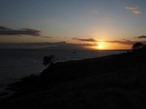 Sunset at Papawai Lookout, Maui