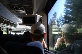 Jeremy on the bus
