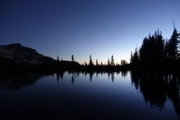 Dusk at Lower Cathedral Lake