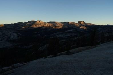 morning views of Yosemite