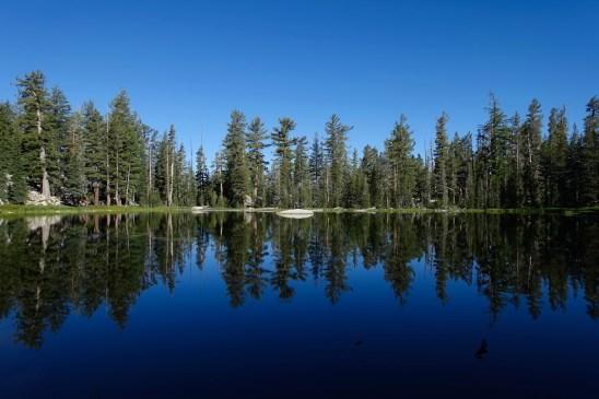 Along the Sunrise Lakes trail