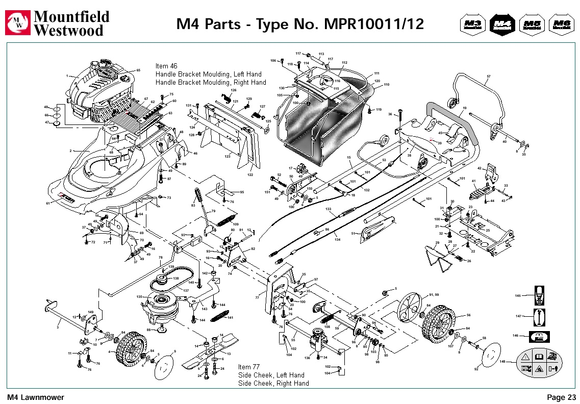 Mpr Mpr Mountfield M4 Pre Machine Diagram