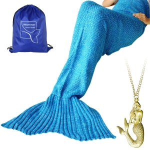 Heartybay Adult Mermaid Tail Blanket