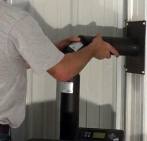 How to set up a pellet stove