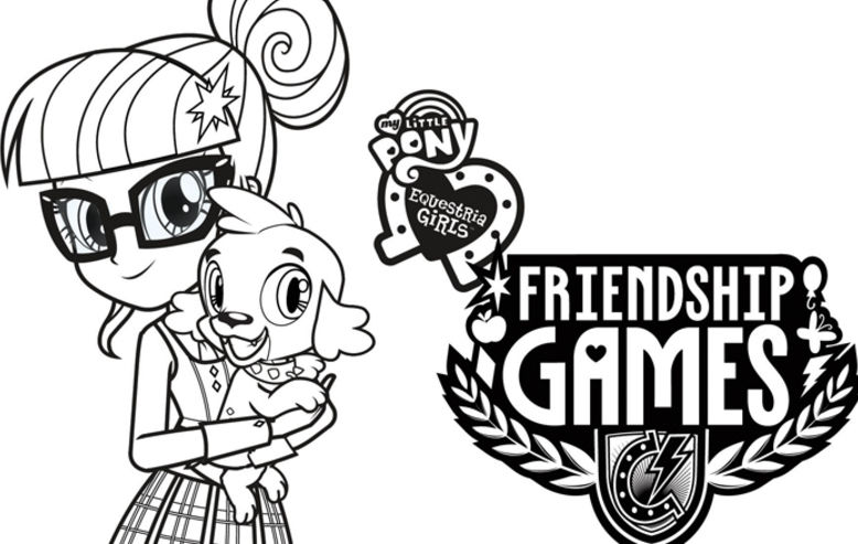 My Little Pony Equestria Girls: Friendship Games Coloring