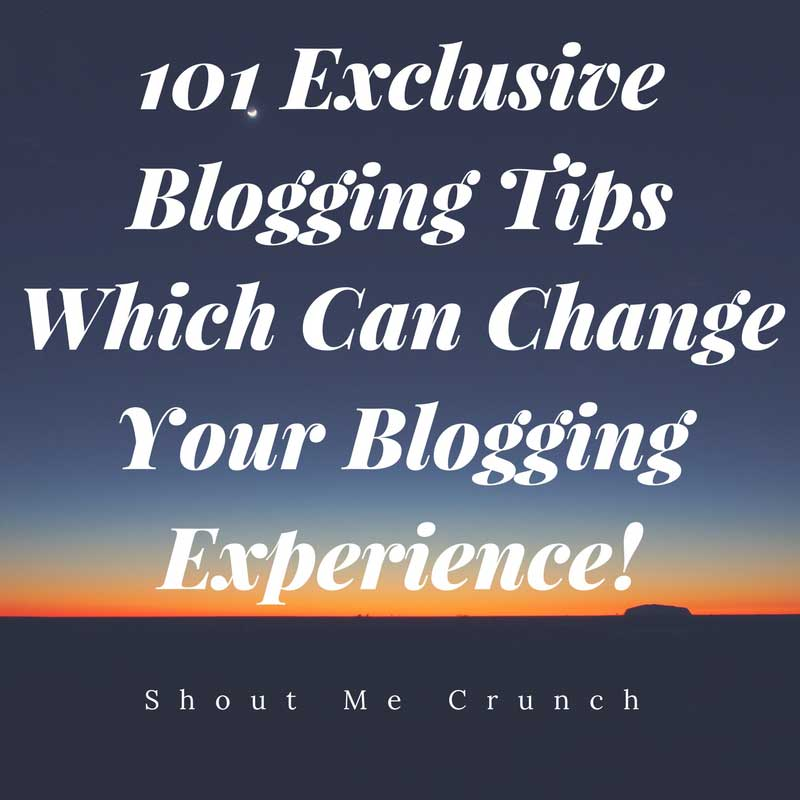 101-Exclusive-Blogging-Tips