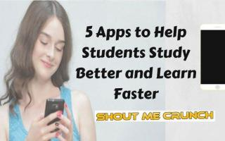 5 Study Apps to Help Students Study Better and Learn Faster