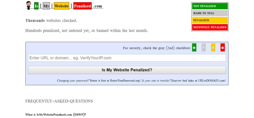 ismywebsitepenalized.com