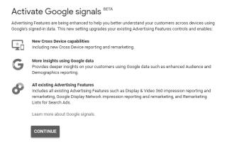 Google Signal