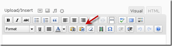 pastefromword thumb How to Copy Post from Microsoft Word File to WordPress Correct Way